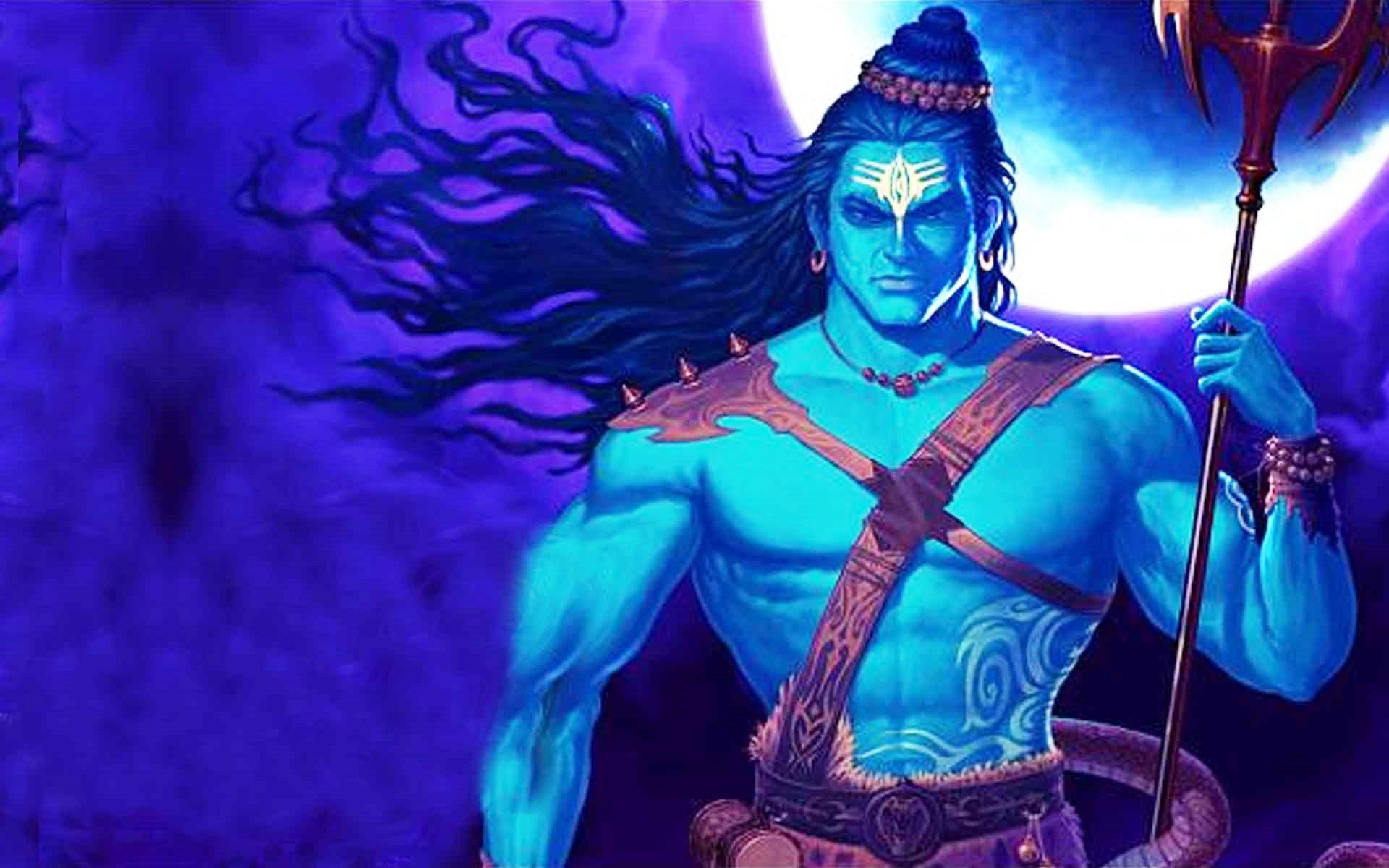 Lord Shiva Animated Full Hd Image 33168058 Compressor Onehimachal