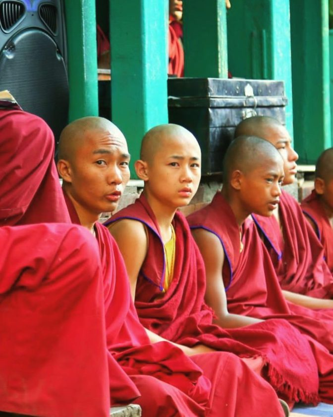The venerated masters of Buddhism