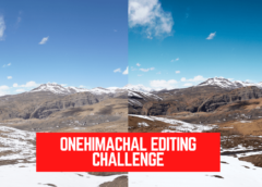 Onehimachal Editing Challenge is ON